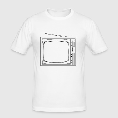 tv - slim fit T-shirt