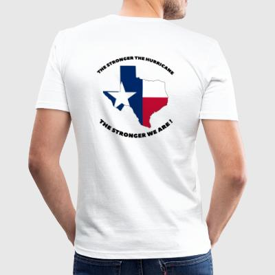 Texas Stronger | B - Männer Slim Fit T-Shirt