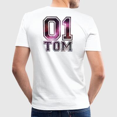 Tom namn - Slim Fit T-shirt herr