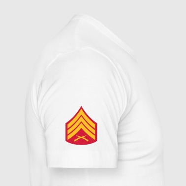 Sergeant SSgt, Mision Militar ™ - Men's Slim Fit T-Shirt