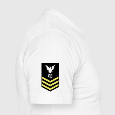 Petty Officer First Class PO1, US Navy - Männer Slim Fit T-Shirt