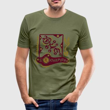Sterrenbeeld Scorpius T-Shirt Design - slim fit T-shirt