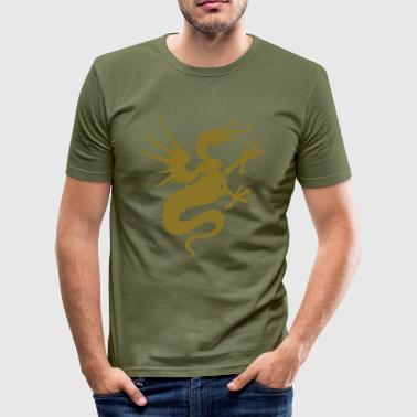 Drache - Männer Slim Fit T-Shirt