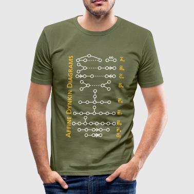 Affine Dynin Diagrams - Männer Slim Fit T-Shirt