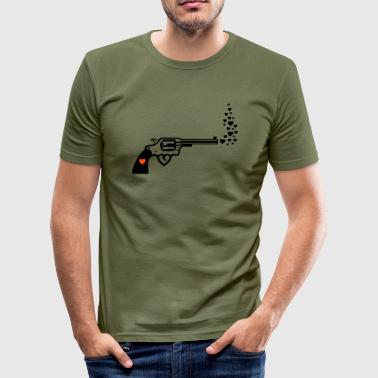 love hurts - Männer Slim Fit T-Shirt
