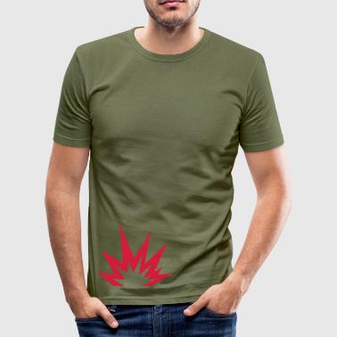 Explosion - Männer Slim Fit T-Shirt