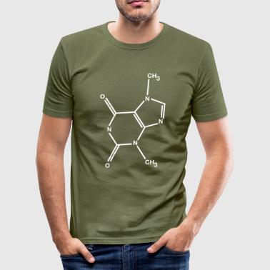 Theobromine chocolade - slim fit T-shirt
