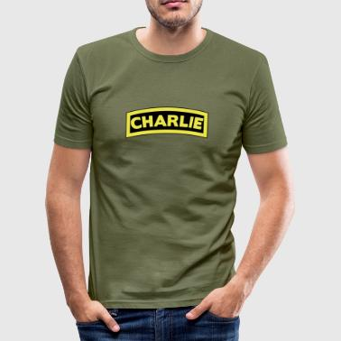 Charlie Tab - slim fit T-shirt