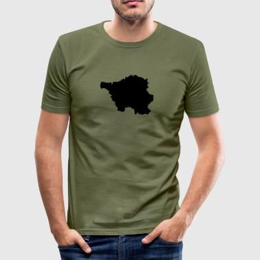 saarland - Männer Slim Fit T-Shirt