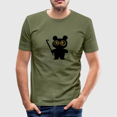 Killa Panda (Panda Bär) - Männer Slim Fit T-Shirt