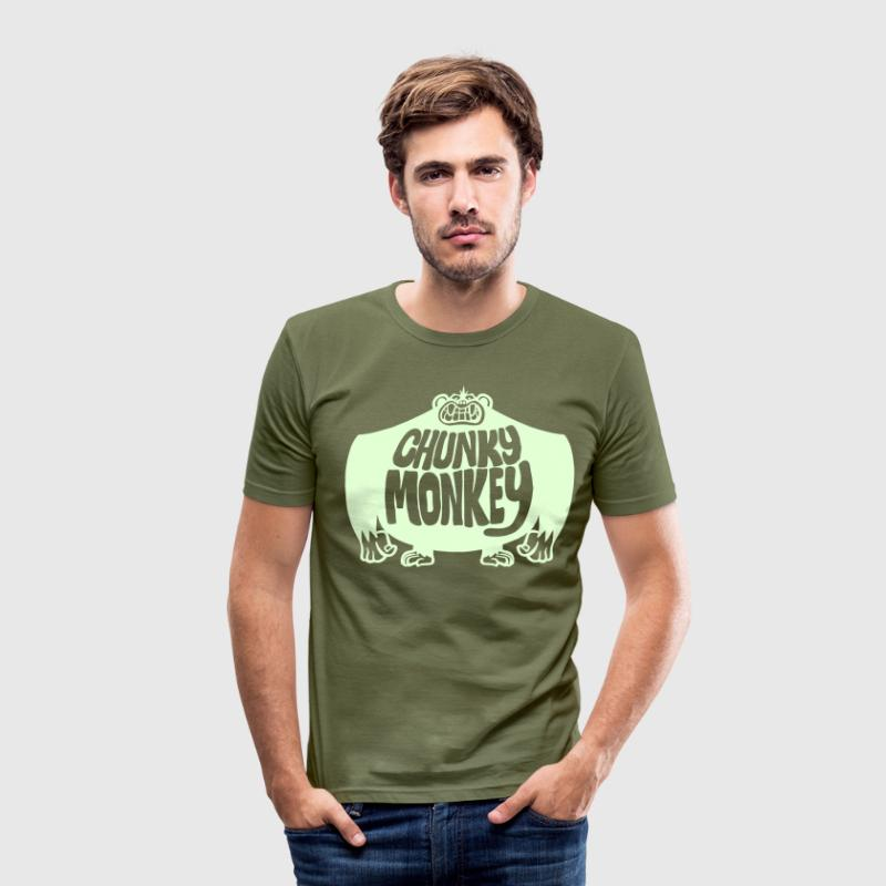 Chunky Monkey - Men's Slim Fit T-Shirt