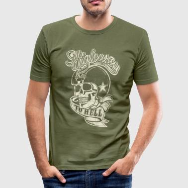 Highway To Hell Highway To Hell - T-shirt près du corps Homme