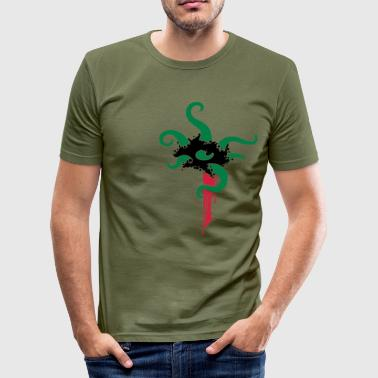 Tentakel - Männer Slim Fit T-Shirt