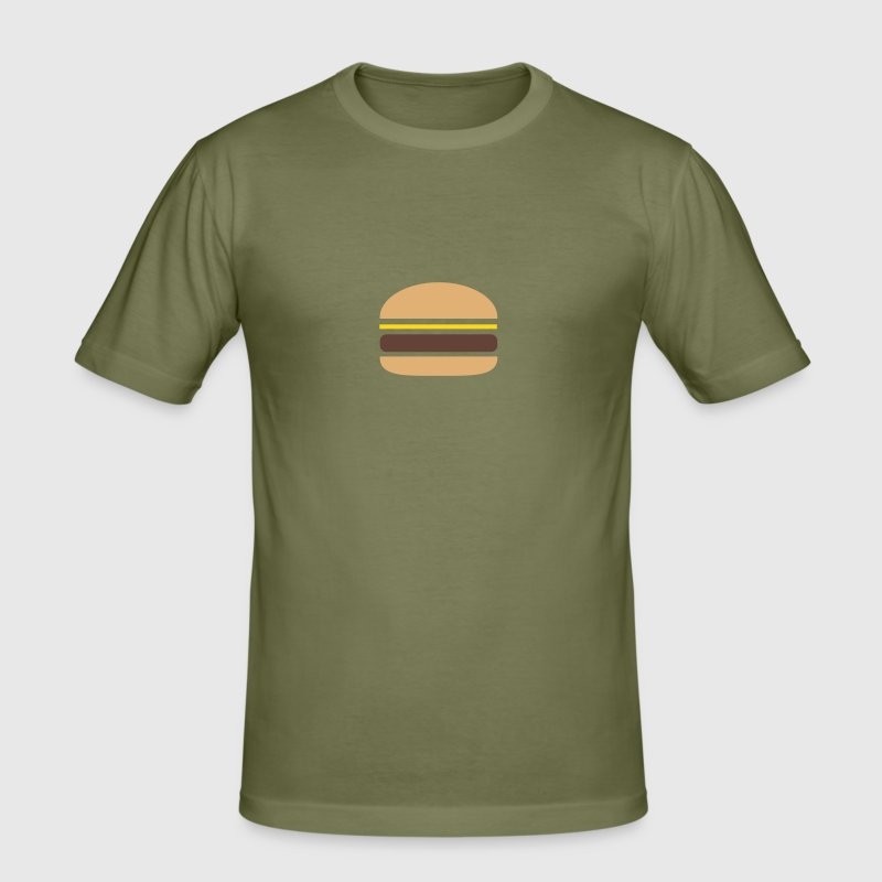 Hamburger - Männer Slim Fit T-Shirt