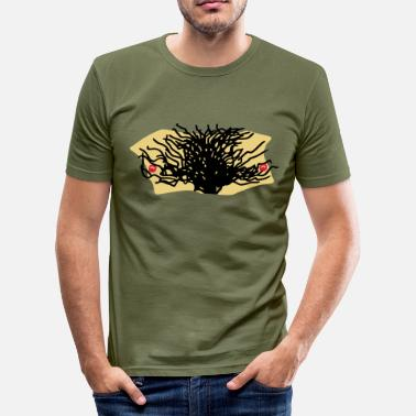 Brusthaare Brusthaar - Brust - Haar - Männer Slim Fit T-Shirt