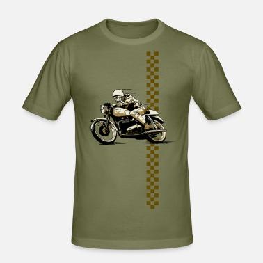 Cafe Racer Cafe Racer - Männer Slim Fit T-Shirt