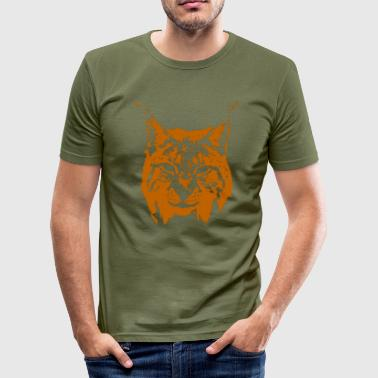 Luchs - Männer Slim Fit T-Shirt