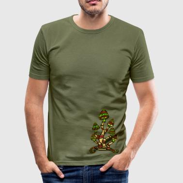 Magic mushrooms - Men's Slim Fit T-Shirt