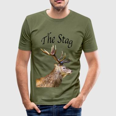 Stag - Men's Slim Fit T-Shirt