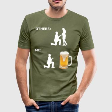 Alster Øl - øl fan - Bierfreund- Gift Craft Beer - Herre Slim Fit T-Shirt