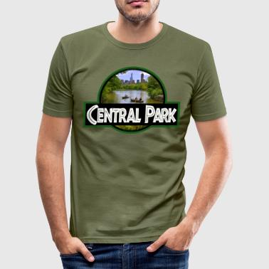Central Park - Slim Fit T-skjorte for menn