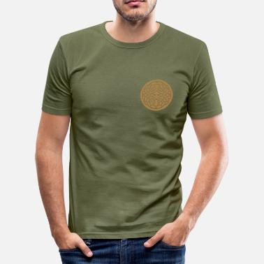 Celtic Knotwork Celtic Circle 2 - Men's Slim Fit T-Shirt