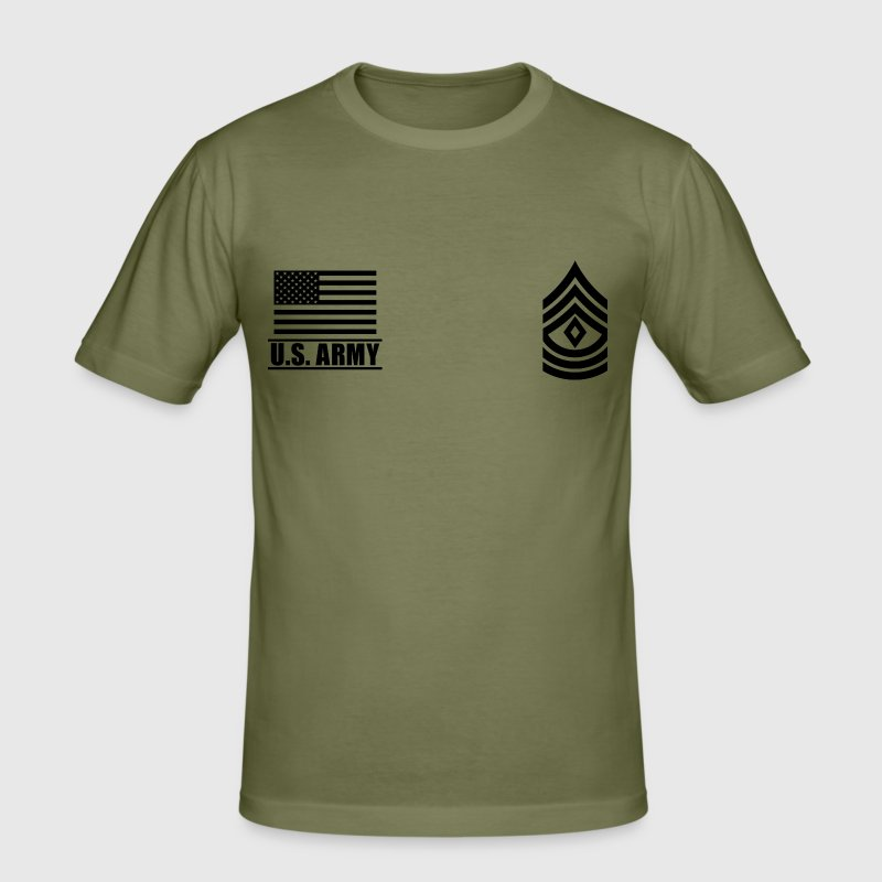 First Sergeant 1SG US Army, Mision Militar ™ - Men's Slim Fit T-Shirt