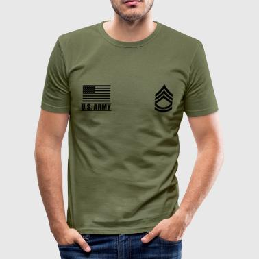 Sergeant First Class SFC US Army, Mision Militar ™ - slim fit T-shirt