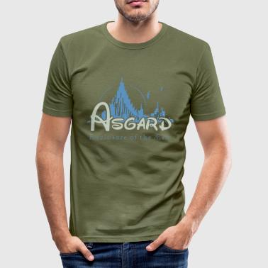 Asgard Enclosure of the Æsir - Men's Slim Fit T-Shirt