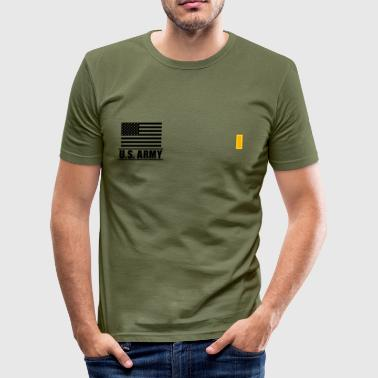 Second Lieutenant 2LT US Army, Mision Militar ™ - Männer Slim Fit T-Shirt