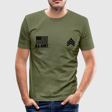 Sergeant Sergeant SGT US Army, Mision Militar ™ - Men's Slim Fit T-Shirt