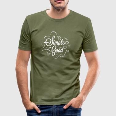 elegant - Männer Slim Fit T-Shirt