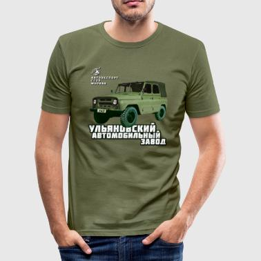 UAZ Jeep - Männer Slim Fit T-Shirt