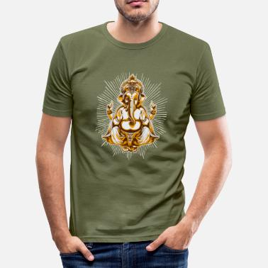 Ganesh shiva - Men's Slim Fit T-Shirt