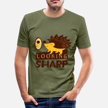 Sharp MIRANDO SHARP - Camiseta ajustada hombre
