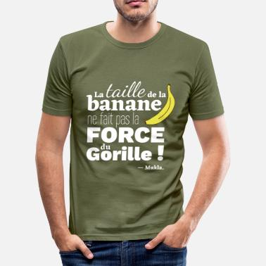 Guide Taille taille banane - T-shirt près du corps Homme