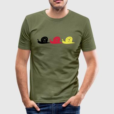 Snail Snail - Slim Fit T-skjorte for menn