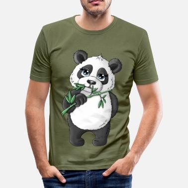Alan Panda Alan - Herre Slim Fit T-Shirt