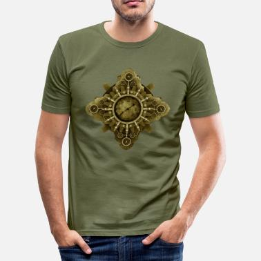 Steampunk Steampunk Icon #1C T-Shirt - Slim Fit T-shirt herr
