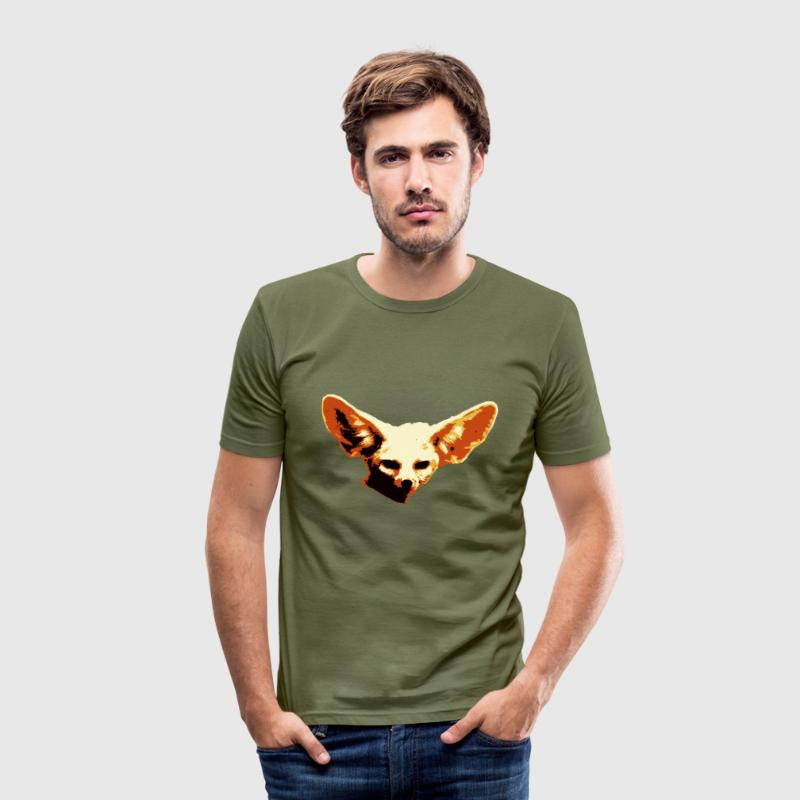 Fenek - Männer Slim Fit T-Shirt