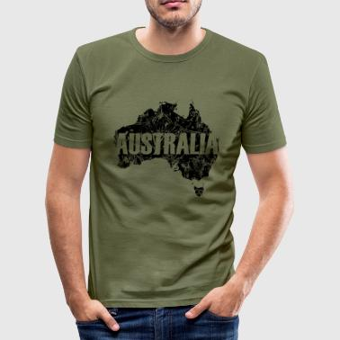 Australia - Slim Fit T-skjorte for menn