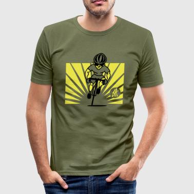 Cyclist - Men's Slim Fit T-Shirt