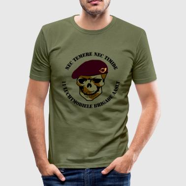Nec Temere Nec Timide Garde Jagers 11 Luchtmobiele Brigade AASLT - slim fit T-shirt