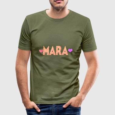 Mare Mara - Slim Fit T-skjorte for menn