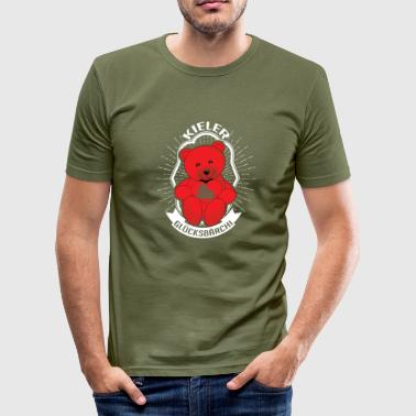 Kieler Glücksbärchi Kiel Red Bear - Men's Slim Fit T-Shirt