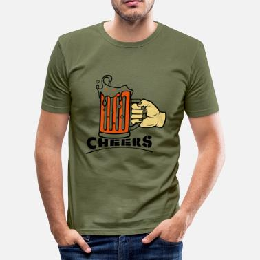 Cheers Cheers! - slim fit T-shirt