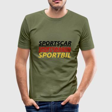 Bil Sport - Herre Slim Fit T-Shirt