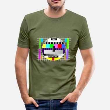 Theory Test image display screen test card signal Big Bang - Men's Slim Fit T-Shirt