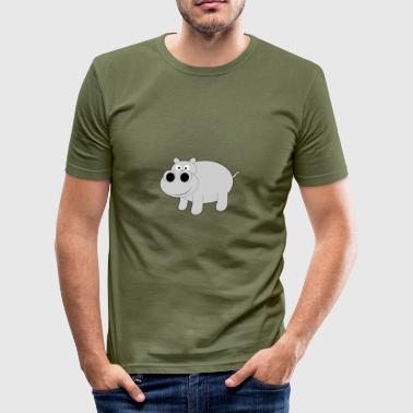 HIPPO - Men's Slim Fit T-Shirt