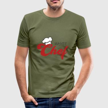 Chef / Chef Cook: Master Chef - Men's Slim Fit T-Shirt